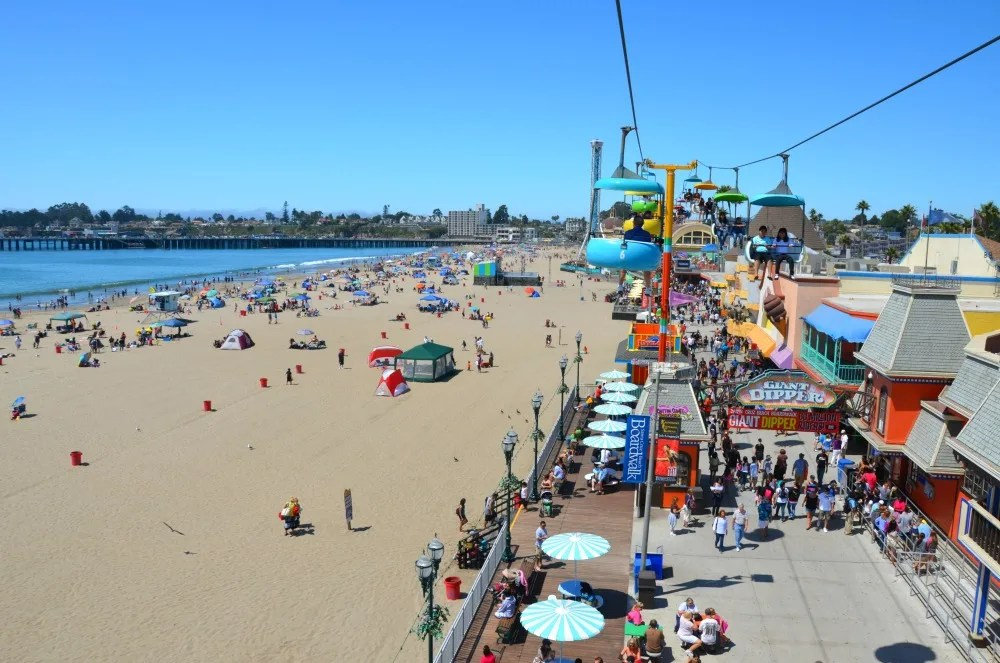 Day Trips Near San Francisco with Kids - Santa Cruz Beach Boardwalk