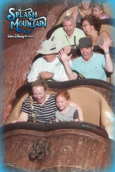 Disneyland vs. Disney World Splash Mountain