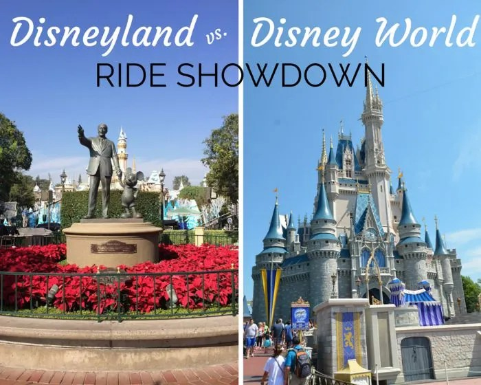 Disney Attraction Prize Fight Disneyland Vs Walt Disney World Versions Of Shared Rides Trips With Tykes