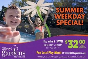 Gilroy Gardens Discount