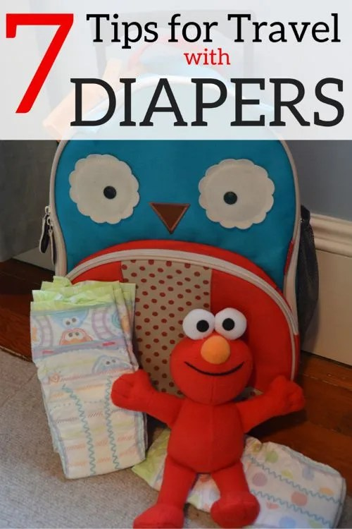 7 Tips for Travel with Diapers