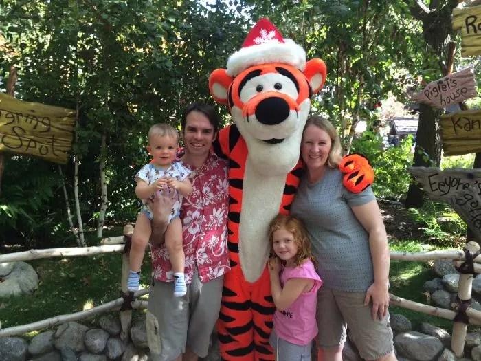 Disneyland Tigger Holidays