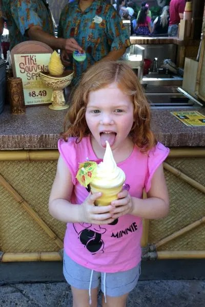 Disneyland with Preschoolers: Dole Whip