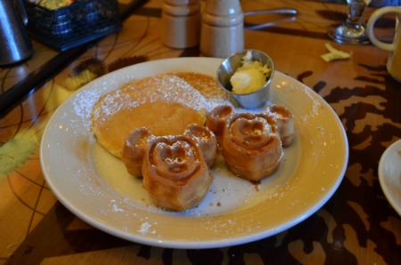 Disneyland Character Meals Mickey Waffles