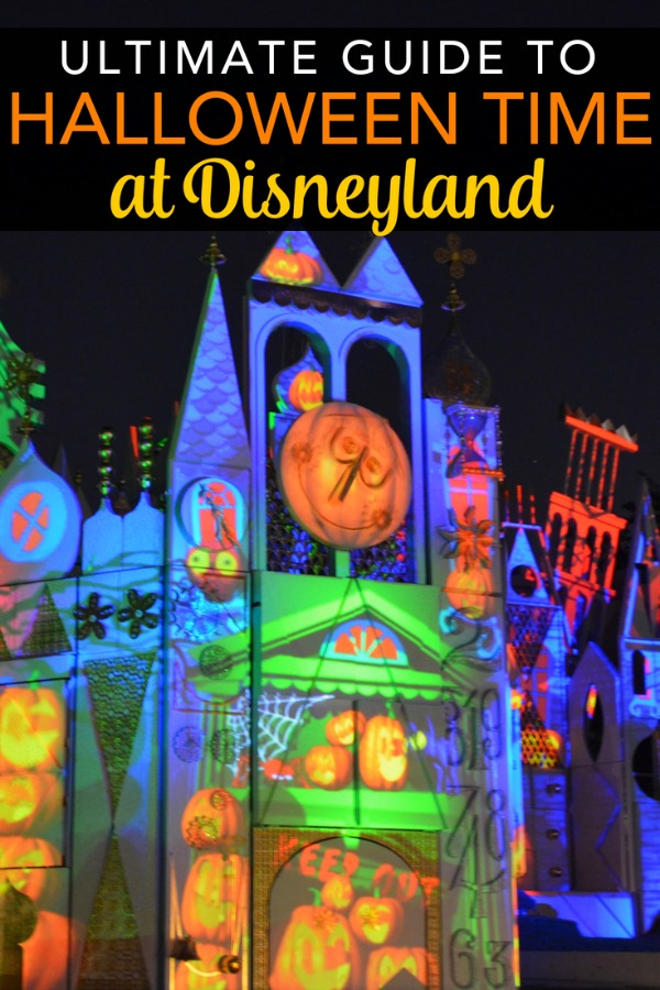 Visiting Disneyland during the Halloween season? The ultimate guide to Halloween Time in both Disneyland and Disney California Adventure, including information about Mickey's Halloween Party. #halloweentime #disneyland #mickeyshalloweenparty #disney