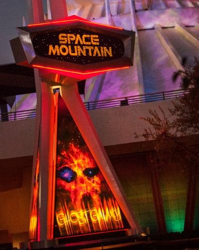 Halloween Time Disneyland Space Mountain Ghost Galaxy