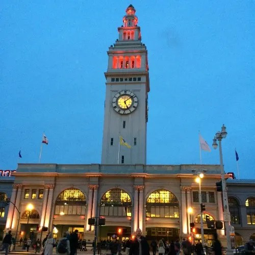 Christmas in San Francisco - Ferry Building Lights