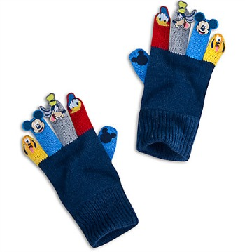 Disney Stocking Stuffers - Mickey Gloves