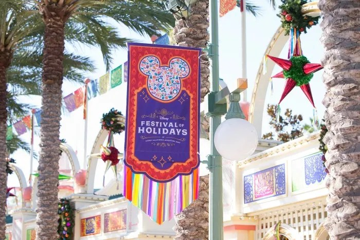 Holidays at Disneyland - Festival of the Holidays