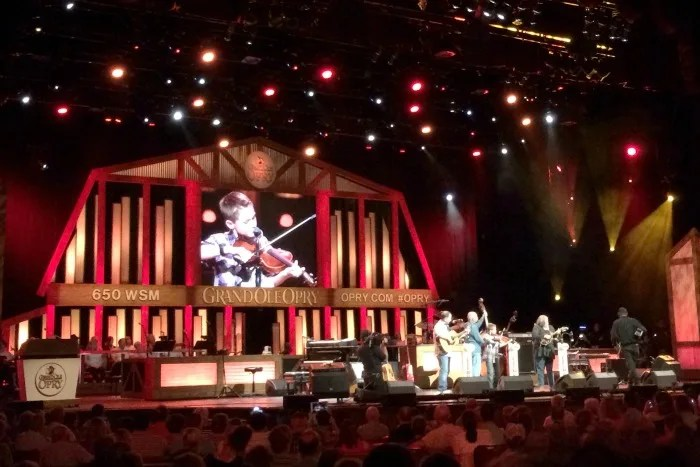 Nashville with Young Kids - Grand Ole Opry Fiddlin Carson Peters