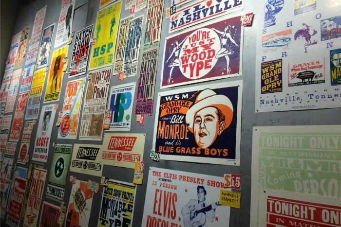 Nashville with Young Kids - Hatch Show Print