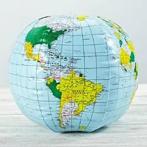 Stocking Stuffers for Traveling Kids - Inflatable Globe