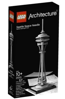 Stocking Stuffers for Traveling Kids - Lego Seattle Space Needle