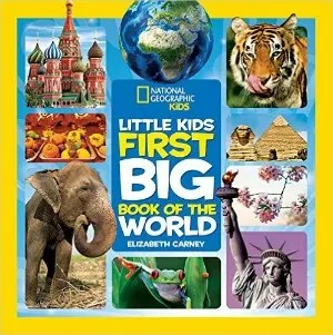 Stocking Stuffers for Traveling Kids - NatGeo Big Book of World