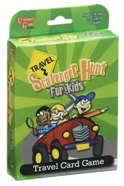 Stocking Stuffers for Traveling Kids - Scavenger Hunt Cards