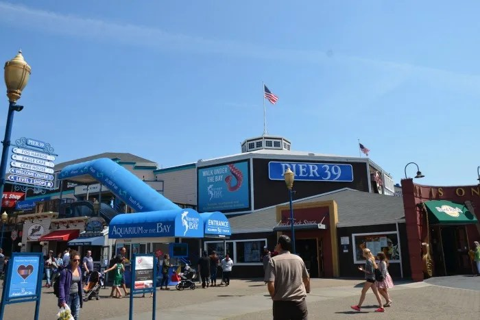 Fishermans Wharf San Francisco with Kids - Aquarium of the Bay