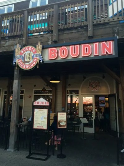 Fishermans Wharf San Francisco with Kids - Boudin