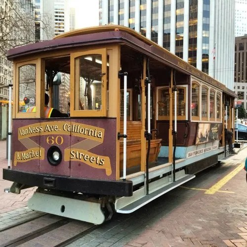 Fishermans Wharf San Francisco with Kids - Cable Car