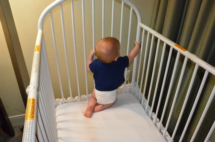 Safe Hotel Crib