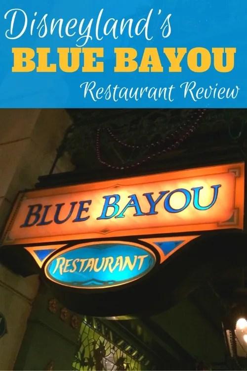 Disneyland Date Night - Blue Bayou Review Pin