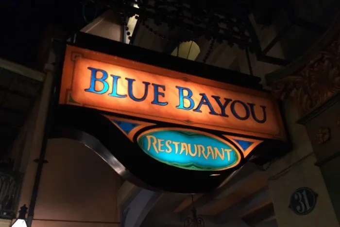 Disneyland Date Night: Blue Bayou Restaurant Review
