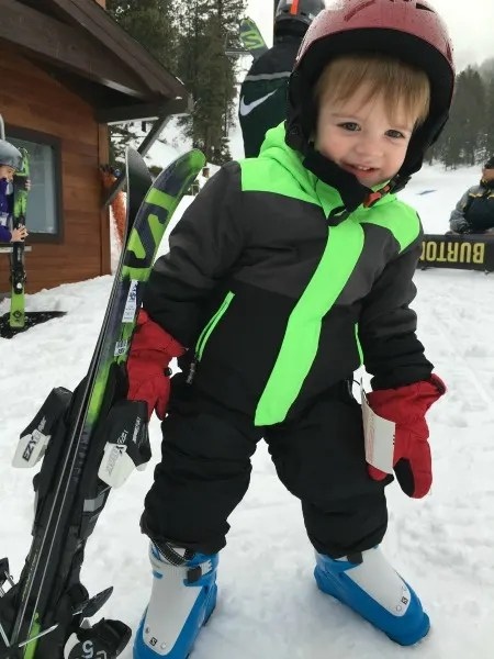 Money Saving Ski tips - Toddlers Ski Free