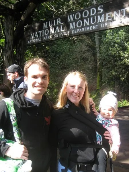 National Parks in the San Francisco Bay Area - Muir Woods Family