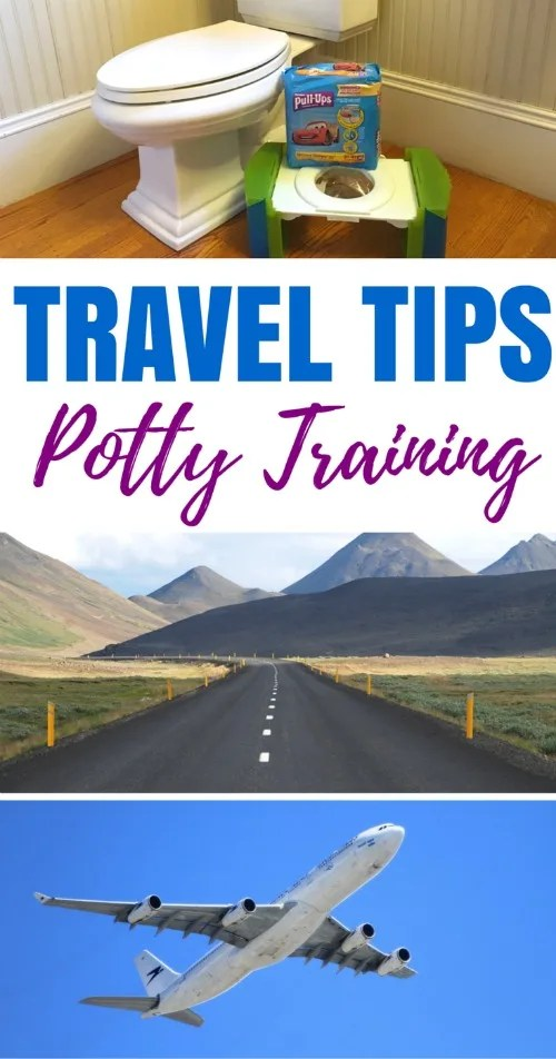Traveling with a potty training toddler? Whether you're traveling by planes, trains, or automobiles, these tried and true tips for potty training during travel will improve your chances of success.