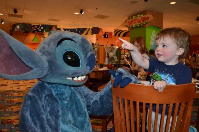 Toddler Travel Tips - Disneyland Surfs Up
