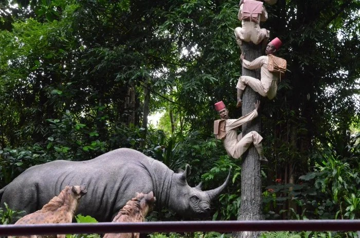 Top Attractions at Hong Kong Disneyland - Jungle Cruise