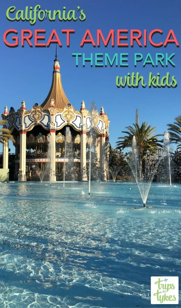California's Great America is a classic theme park in the San Francisco Bay Area. While it's known for its roller coasters, it also had lots of rides for younger kids. Get the best tips and strategies for visiting Great America with babies, toddlers, and younger kids not quite ready for thrill rides.