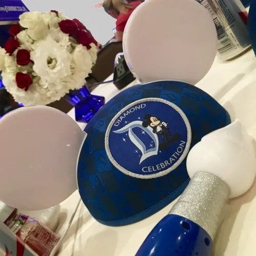 Disney Social Media Moms On the Road Disneyland - Souvenirs 60th Diamond