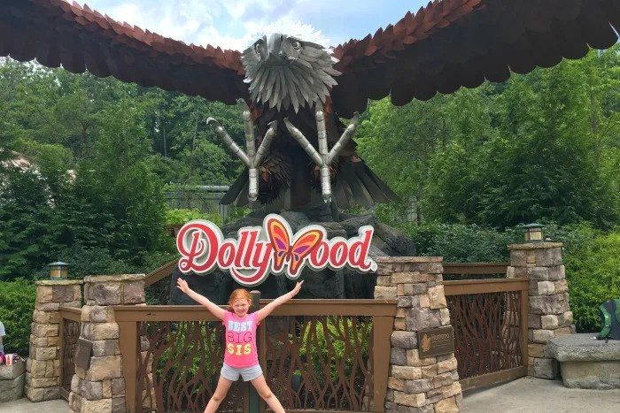 Dollywood with Kids - Dollywood Eagle