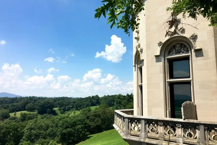 Biltmore Estate with Kids - Grounds view