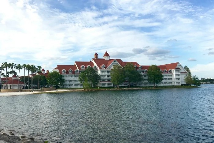 Disney's Grand Floridian Review - Building on Seven Seas Lagoon