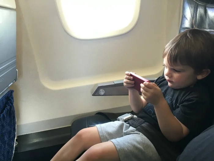 Trip with Toddler on Airplane