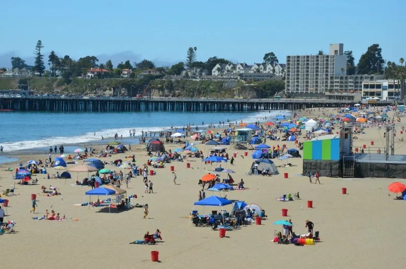 Spring Break Destinations in California - Santa Cruz