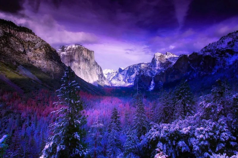 Spring Break Destinations in California - Yosemite