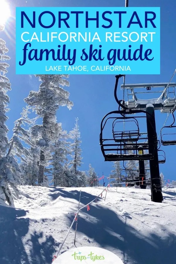 Planning a ski trip to Northstar California Resort by Lake Tahoe? Get all the tips on ski school for kids, where to eat, the best ski runs, and how to dodge the crowds for your next family ski vacation. #northstar #northstarcalifornia #skiing #laketahoe