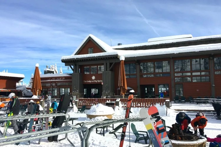 Skiing Northstar with Kids - Big Springs Lodge