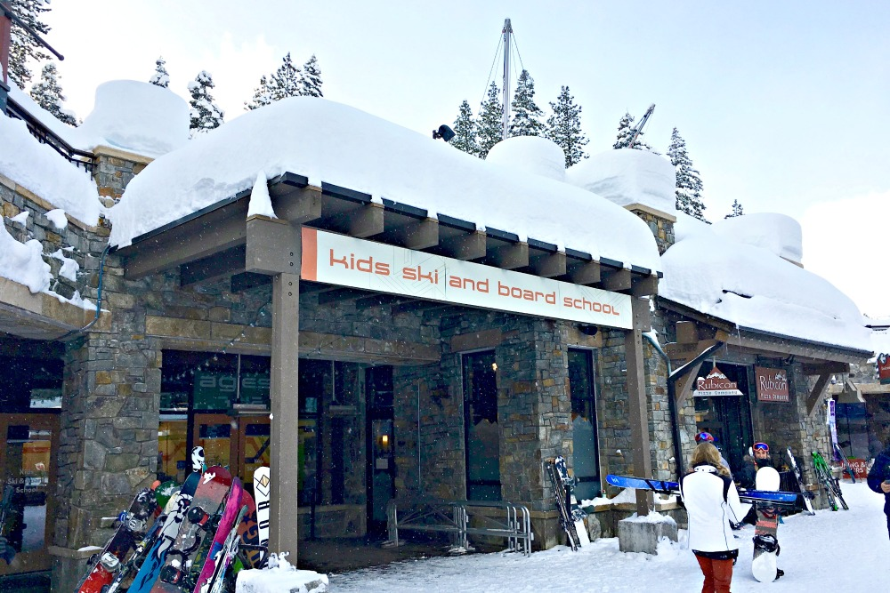 Skiing Northstar with Kids - Village Ski School