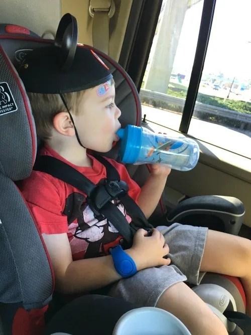 Uber Car Seat Orlando - Toddler Riding