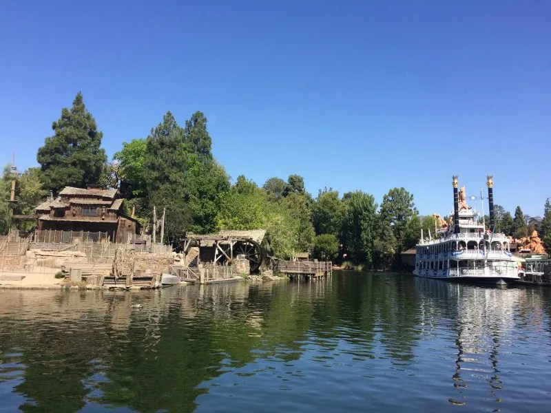 New at Disneyland 2017 - Rivers of America