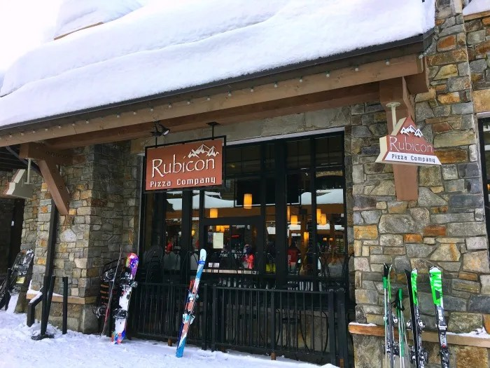 Northstar California Dining Guide - Rubicon Pizza