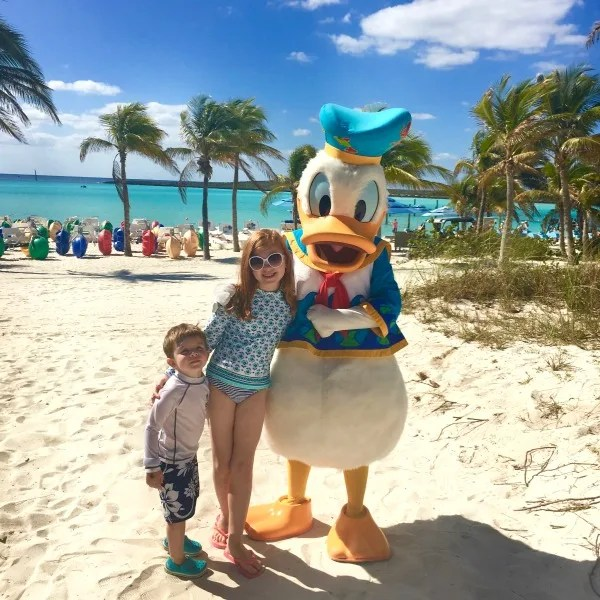 Disney Cruise Line with Toddlers and Preschoolers - Castaway Cay Character Meet and Greet