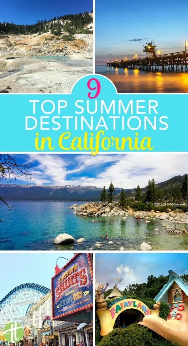 Traveling in California in summer? 9 amazing kid-friendly destinations in the Golden State perfect for June, July, and August family vacations and road trips.