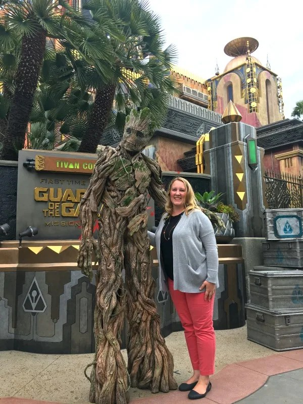 Guardians of the Galaxy - Mission BREAKOUT! - Meet Groot