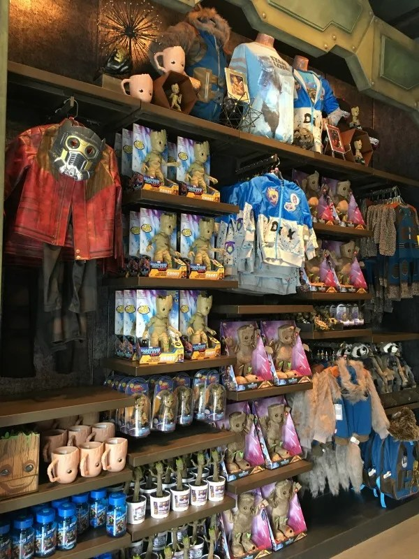 Guardians of the Galaxy Mission BREAKOUT - Store Merchandise
