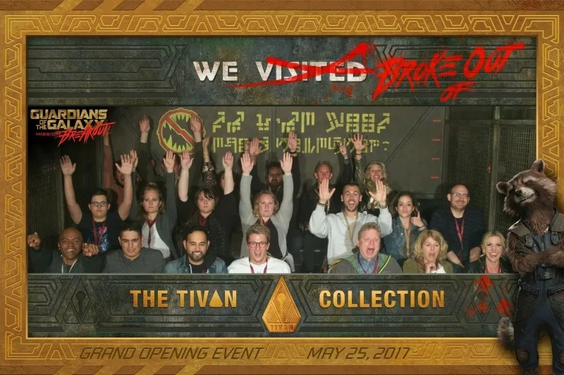 Guardians of the Galaxy Mission Breakout - Ride Photo