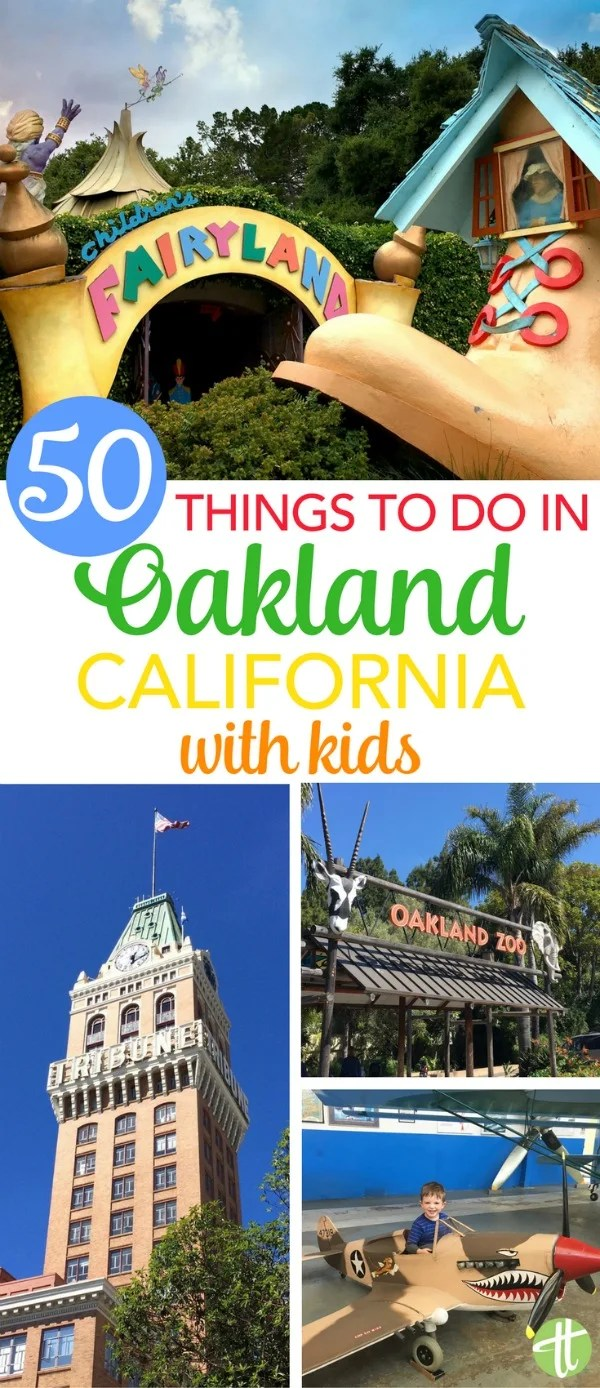 Things to do in Oakland, California with kids: Visiting the San Francisco Bay Area? The best activities, restaurants, and attractions in the East Bay for locals and tourists alike.